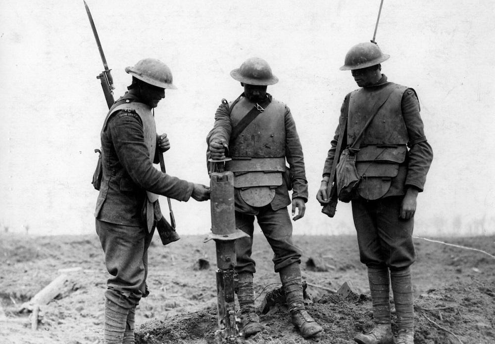 Bearly-Max Baju Baja Perang Dunia Pertama
