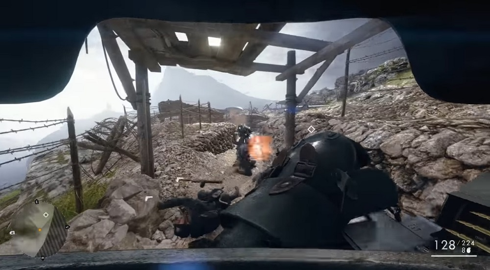 Bearly-Max Battlefield 1 Avanti Savoia