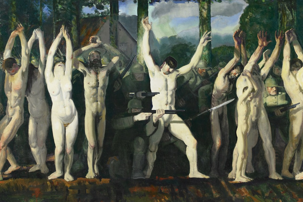 Barricade oleh George Bellows