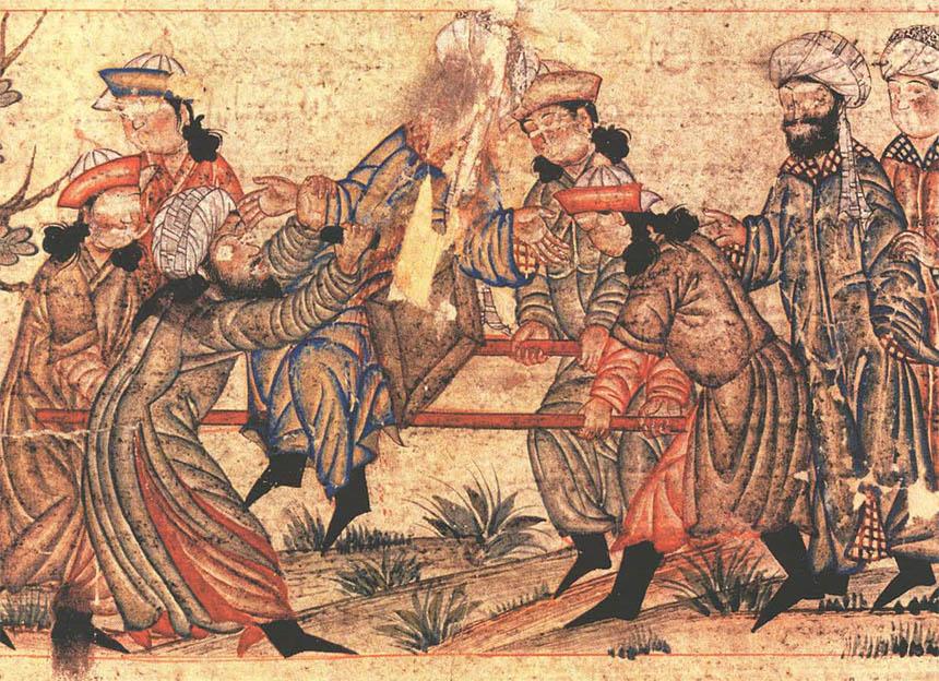 Pembunuhan Nizam al-Mulk oleh agen Ismaili