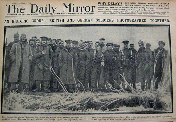 gencatan senjata Natal 1914