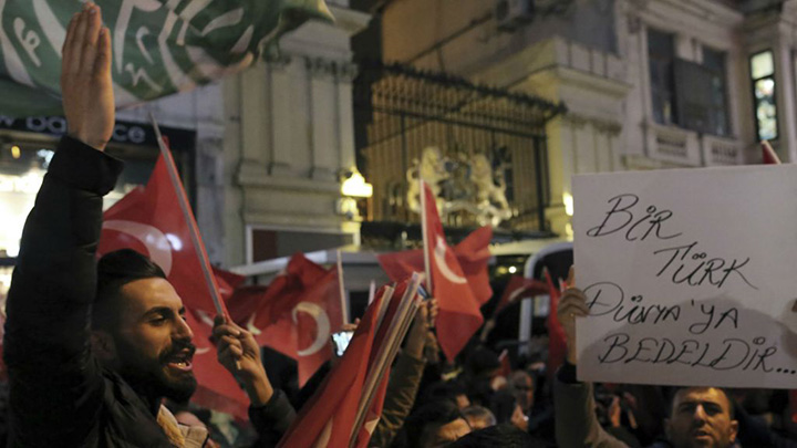 Konflik Turki di Belanda