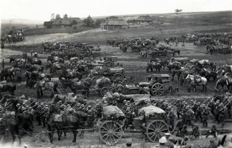 Mobilisasi Kekaisaran Jerman dalam Perang Dunia Pertama
