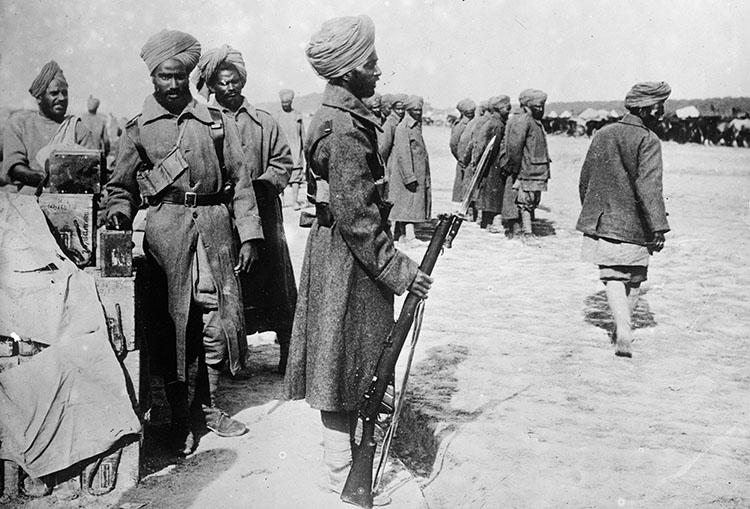 Pasukan India dalam Perang Dunia Pertama