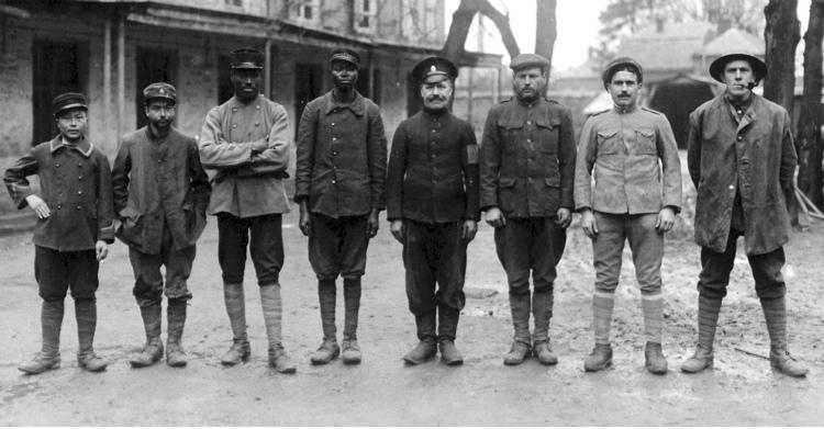 Ragam bangsa dalam Perang Dunia Pertama