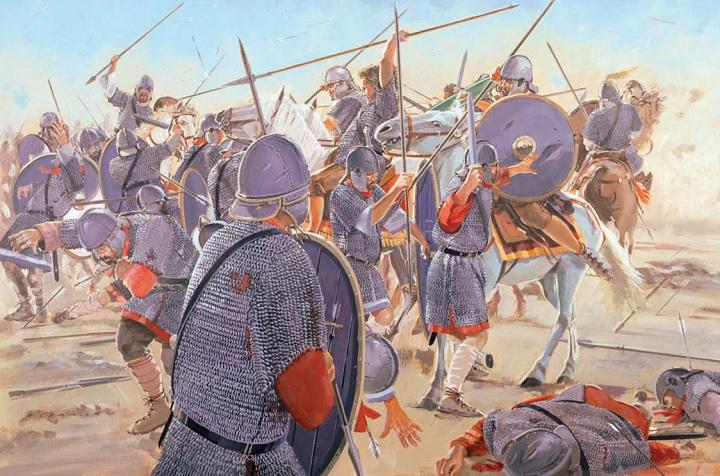 peran infanteri militer di sejarah-kontak langsung 4