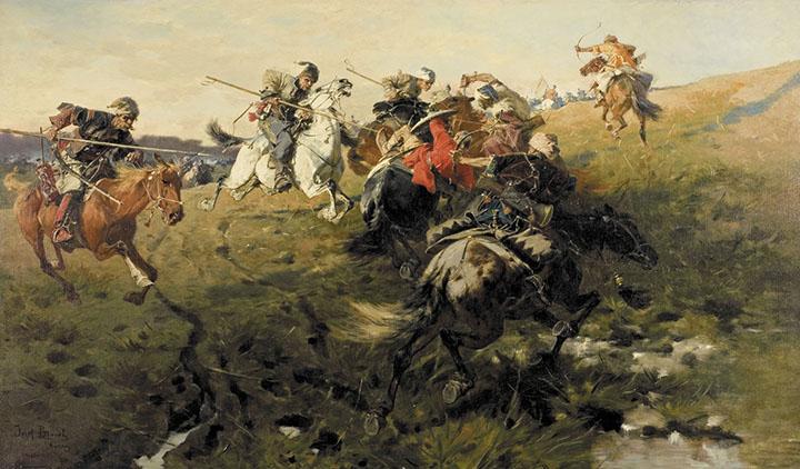 Peran kavaleri dalam militer 13