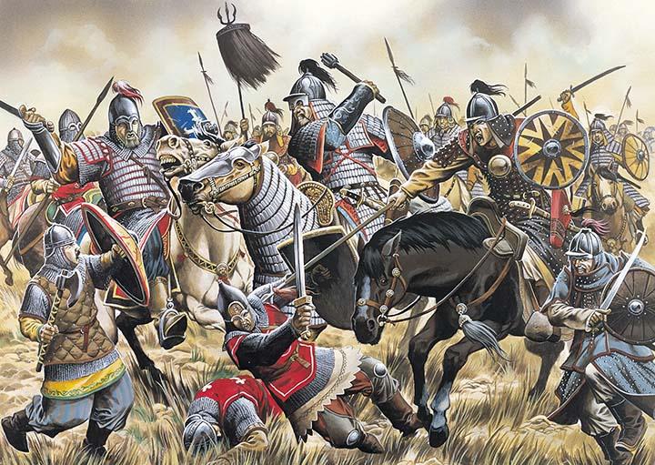peran kavaleri dalam sejarah militer 16