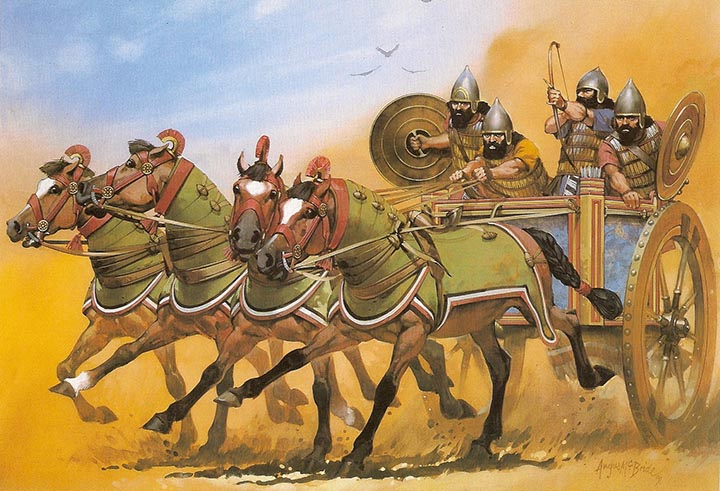 peran kavaleri dalam sejarah militer 8