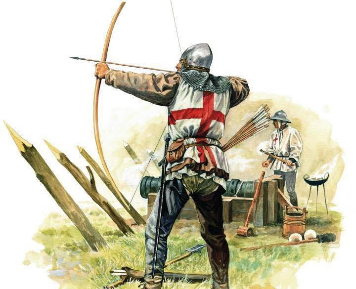 peran pemanah dalam ofensif utama 7