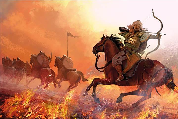doktrin militer kekaisaran mongol dan genghis khan 14