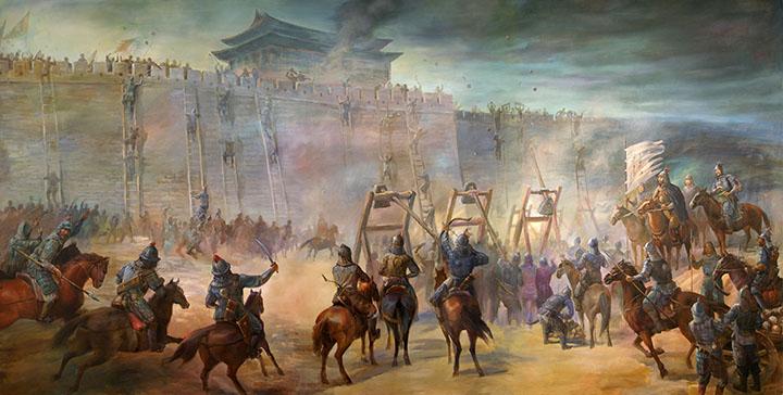 doktrin militer kekaisaran mongol dan genghis khan 17